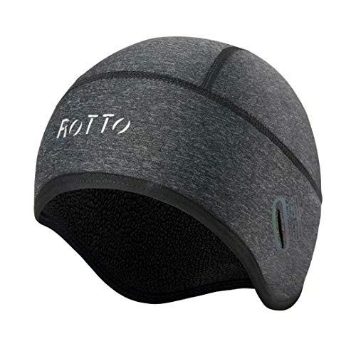ROTTO Gorro Ciclismo Gorro Bajo Casco Termico Moto Running para Deporte de...