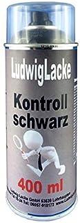 Kontrollschwarz Kontrollfarbe Schwarz matt Spraydose AUTOLACK Qualität 400ml