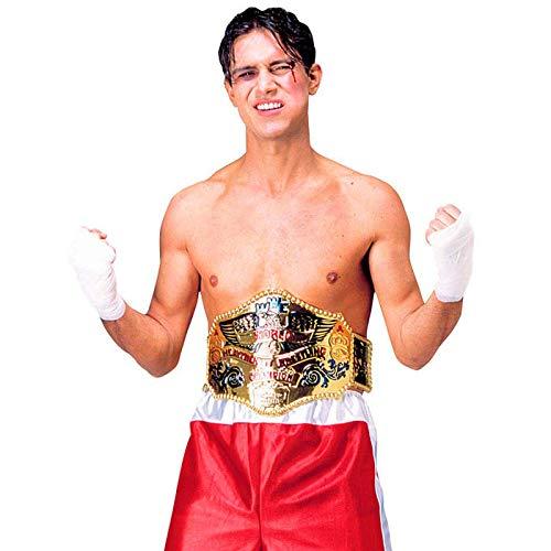 PARTY DISCOUNT Gürtel Boxer, World Champion, Gold