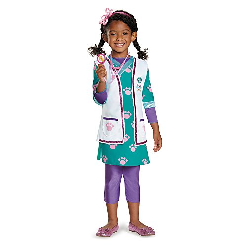 Doc Pet Vet Deluxe Costume, Medium (3T-4T)