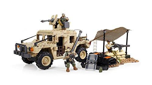 Model 06817 514 Piece Mega Bloks Call of Duty Light Armor Firebase
