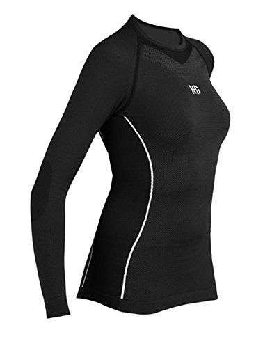 SPORT HG HG-8050 NG/Fuc Camisetas térmicas, Mujer, Negro, S