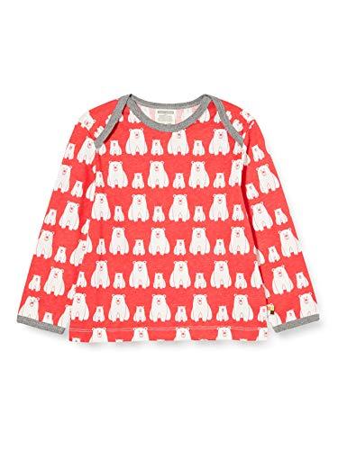 loud + proud Kinder-Unisex Druck T-Shirt, Melon, 98/104