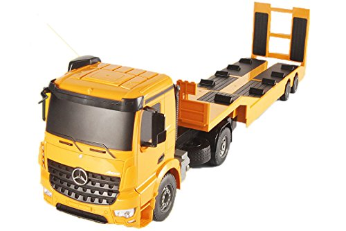iFIN 大型トレーラー重機運搬車 ラジコン 1/20スケール