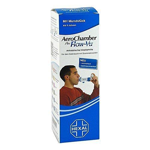 Aerochamber Hexal mit Mundstück für Erwachsenen 1 stk by AEROCHAMBER