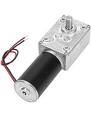 DC-wormwielmotor, omkeerbare wormwielmotor met hoog koppel Vermindert elektrische versnellingsbakmotor met 8(12V, 50RPM)