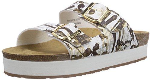 Desigual Shoes Carlota, Sandales pour Femme - Noir - Schwarz (2000), 39 EU