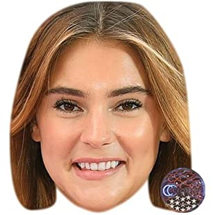 Stefanie Giesinger Celebrity Mask, Card Face and Fancy Dress Mask:Cnsrd