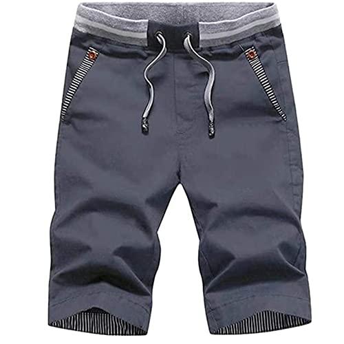 2021 Nuevo Pantalones cortos Hombre Verano Casual Cómodo Moda Deporte Running Pants Jogging Original Color sólido Cortos Pantalon Fitness Gym Suelto Ropa de hombre Pantalones de playa shorts