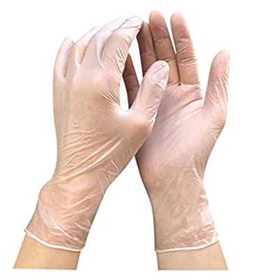 Disposable Rubber Gloves 100 pcs 50 Pairs Nitrile Gloves Comfortable Protective Convenient Comfortable Mechanic Tatoo Latex Gloves PVC Gloves Powder Free Gloves Exam Gloves Film Gloves