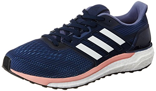 adidas Supernova, Zapatillas de Running para Mujer, Azul (Midnight Grey/Footwear White/Still Breeze), 38 EU