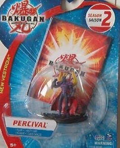 BAKUGAN Season 2 Percival Action Figure Plus Ability Card by