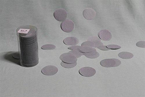 Confettis de scène rond - gris