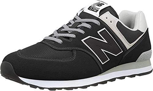 New Balance 574 Core, Zapatillas Hombre, Negro (Black EGK), 43 EU