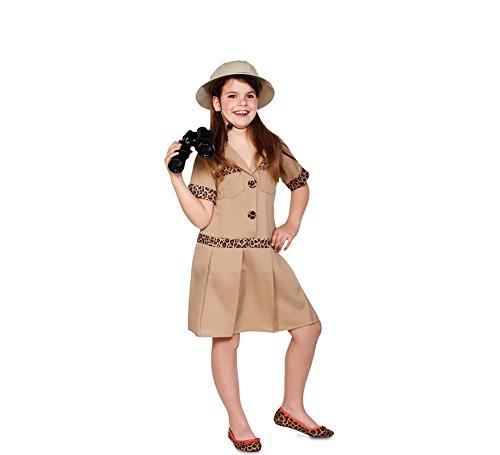 fyasa 706354-t02 Safari Girl kostuum, medium