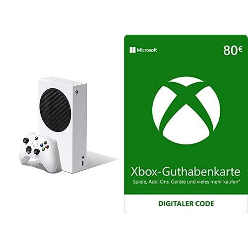 Xbox Series S + Xbox Live - 80 EUR Guthaben (Xbox Live Online Code)