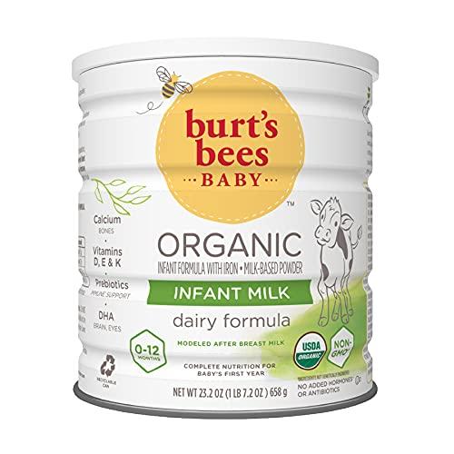 Burt's Bees Baby Organic Infant Milk Formula with Iron, 23.2 Ounce