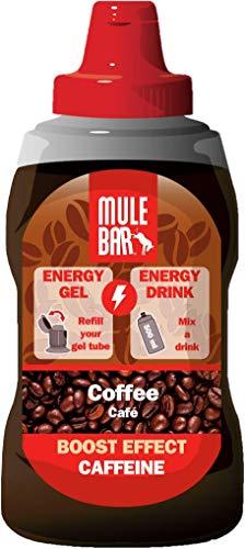 Eco-recarga 12 geles energéticos Mulebar Café – 444 g – Végan