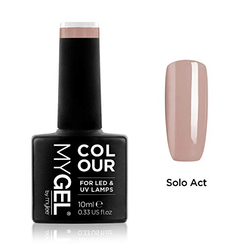 MyGel Nagellack von MYLEE (10ml) MG0048 - Solo Act UV/LED Nail Art Maniküre Pediküre für den professionellen Einsatz im Wohnzimmer und zu Hause - Langlebig und einfach anzuwenden