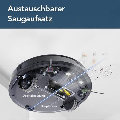 ECOVACS Robotics DEEBOT 901 Saugroboter – Leistungsstarker Staubsauger Roboter mit intelligenter Laser Navigation & MAX-Modus – Akkusauger mit Alexa- & Appsteuerung - 4