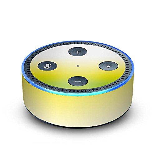 DeinDesign Amazon Echo Dot 2.Generation Folie Skin Sticker aus Vinyl-Folie Green Gelb Yellow