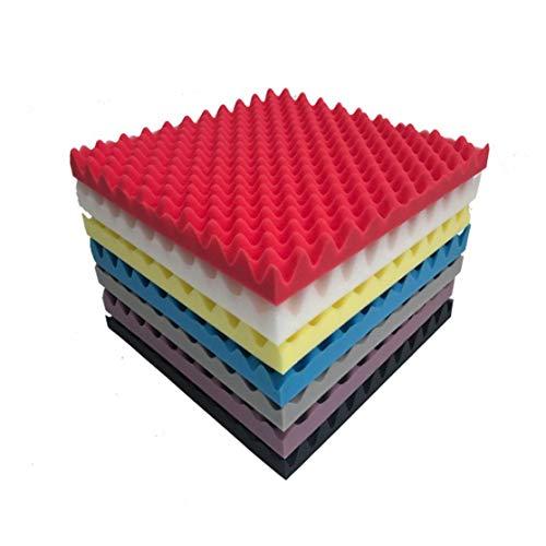 zhouweiwei Schallabsorbierende Baumwoll-Akustikschaum-Pyramidenfliesen für Studio Sound Room Music Schallschutzschaum