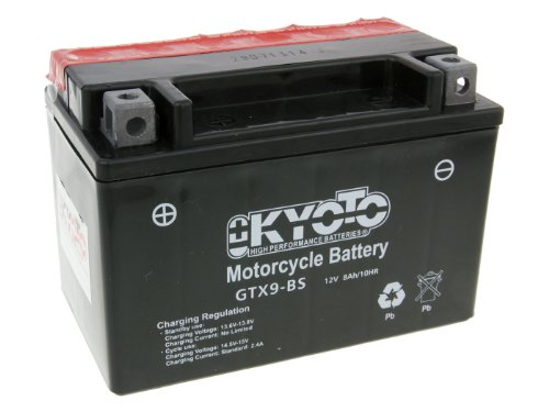 battery Kyoto 12V GTX9-BS MF maintenance free for Yamaha, used for sale  Delivered anywhere in UK