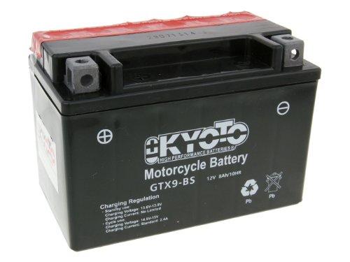 Kyoto GTX9-BS M Batería, 12 V, sin necesidad de mantenimiento