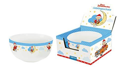 Trötsch unser Sandmännchen Lieblingsschale blau: Aus Porzellan mit Geschenkverpackung