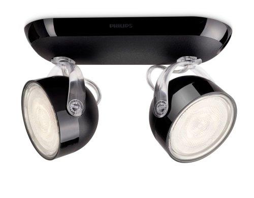 Philips myLiving Dyna - Aplique con 2 focos, iluminación interior, LED, luz...