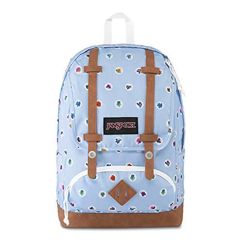 JanSport Baughman 15' Laptop Backpack - School Book Bag | Fleur De Dot Print