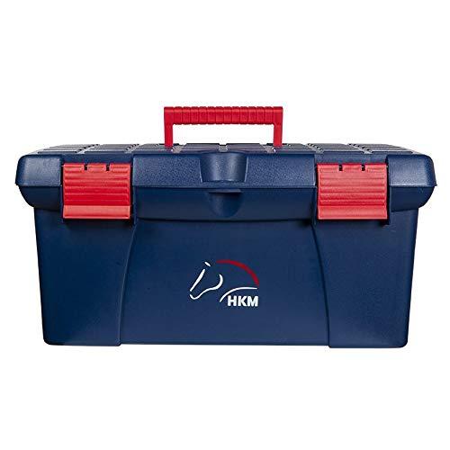 HKM Oslo Putzbox dunkelblau/rot Stück