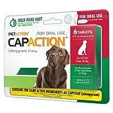 CapAction Oral Flea Treatment Large Dog 6ct