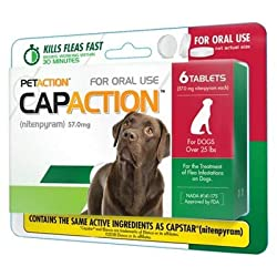 CapAction Oral Flea Treatment Large Dog