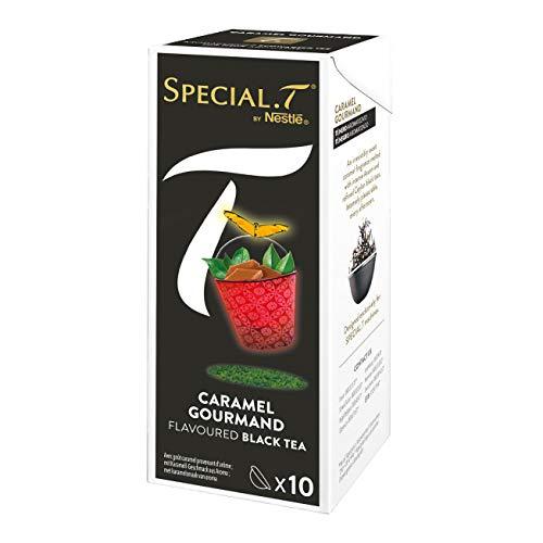 Original Special T – Caramel Goumand – Schwarztee – 30 Kapseln (3 Packungen) für Nestlé Tee Maschinen – hier bestellen