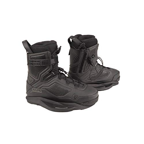 Ronix Wakeboard Bindings Kinetik Project EXP Boot - Flash Black - Intuition - 11 (2019)