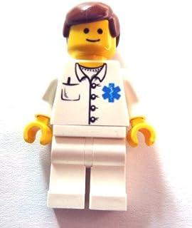 LEGO®City–difíciles Mini figura Doctor––Médico Sanitario doc027