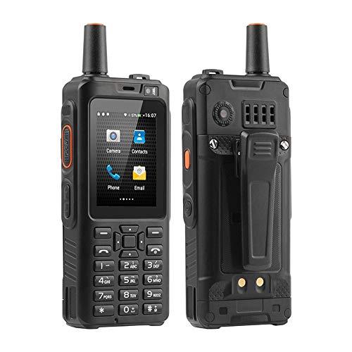 Smartphone Uniwa Alpes F50 ZELLO PTT WALKIE-Talkie 4000mAh 2.8 Pulgadas Pantalla táctil cuádruple MTK6735 1GB + 8GB 4G LTE Android 6.0 Drop Rugged Teléfono (F40)
