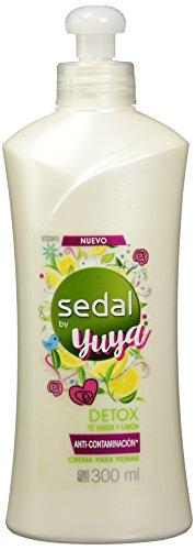 SEDAL Crema para peinar detox by yuya té verde y limón 300 ml