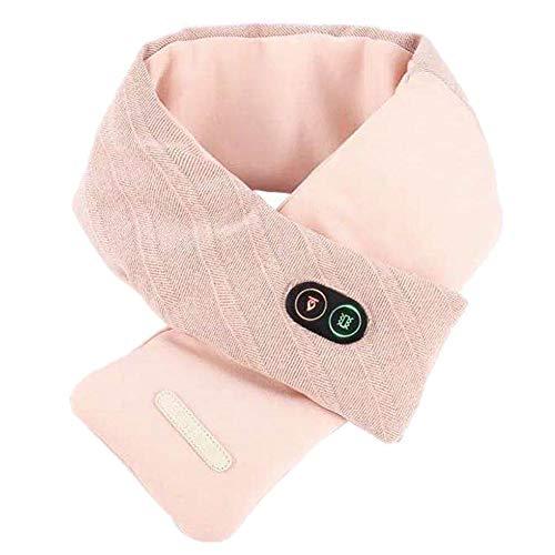 Luorizb USB Smart Heizung Schal Wiederaufladbare Heizung Schal-Ansatz Heizkissen Schal Smart-Physiotherapie Warm...
