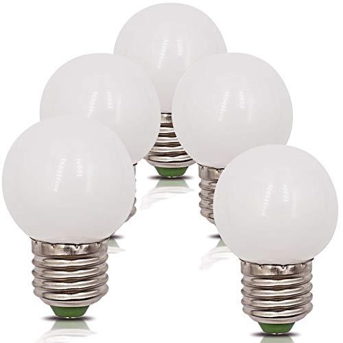 5er Pack 4W E27 LED Glühbirnen 2700K Ersetzt 30W 35W Warmweiß 220V 230V 360Lumen G45 Bädern Wandleuchte Wohnzimmer Klein Lampe [MEHRWEG]