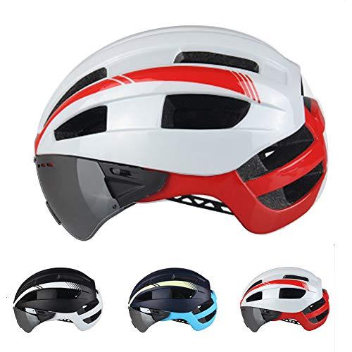 KuaiKeSport Casco Patinete Electrico Adulto,Casco Bicicleta con Visera CE,Ajustable Deporte Ligera para...