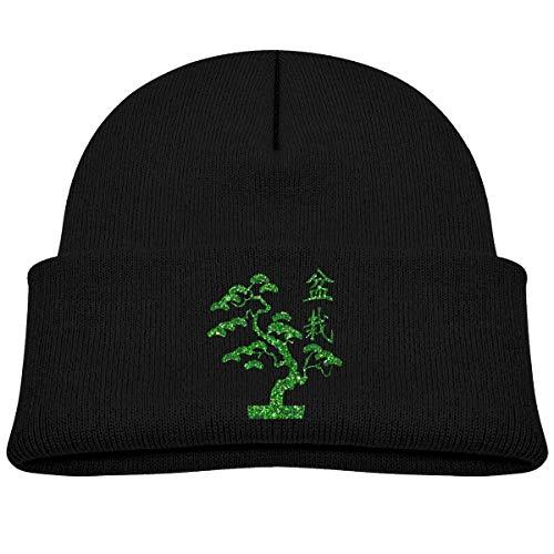 Beanie Beanie Tree Bonsai Japan Baby Boy Girl Cap Slouchy Cotton Kid Warm Skull Knit Hat Negro