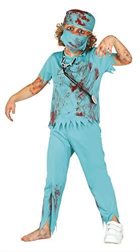 Guirca 82611 - Cirujano Zombie Infantil Talla 7-9 Años