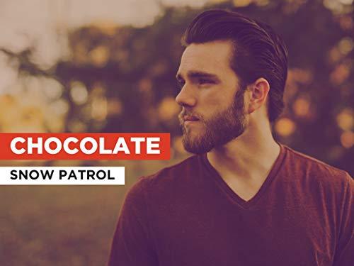 Chocolate al estilo de Snow Patrol
