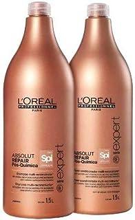 Kit Pós Química Loréal Professionnel Shampoo e Condicionador 1,5L