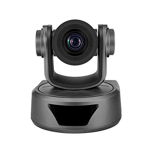MOFENGWU 1080P HD Webcam, Cámara De Videoconferencia 3X Opcional Cámara con Zoom Webcam HD 1080P Apoyo 95 Grados De Visión Amplio USB Auto Control Remoto