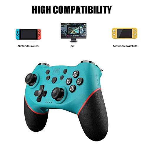 Diswoe Mando para Nintendo Switch, Wireless Bluetooth Pro ...