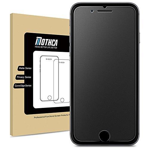 Mothca iPhone 6 6S Vetro temperato Matte Proteggi schermo Film Opaca Anti-Riflesso&Anti-impronte digitali Anti-graffi 9H Durezza Tempered Glass Screen Protector HD Pellicola Protettiva(6/6S)