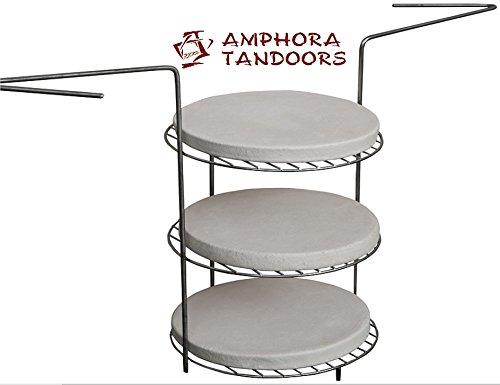Amfora / Amphora Tandoor oven Backstein - Brotbackstein / Pizzabackstein Ø 28 см, Тандыр, Tandur, Tandir, Tandoori, Tandyr, Grill